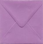 1 Enveloppe 14 x 14cm Fuchsia Paars