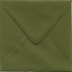 1 Enveloppe 14 x 14cm Mosgroen