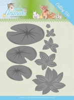 Die Jeanines Art JAD10069 Young Animals Lily Pond Leaves