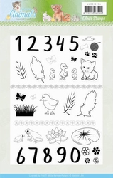 Clearstamp Jeanine JACS10024 Young Animals