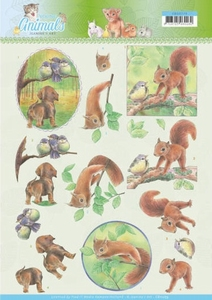 A4 Knipvel Jeanine CD11273 Young Animals In the Forest
