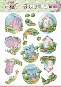 3D Stansvel Amy Design SB10334 Spring is Here Garden Sheds