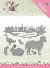 Amy Design Die Spring is Here ADD10167 Spring Animals