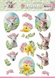 3D Stansvel Amy Design SB10331 Spring is Here Baby Animals
