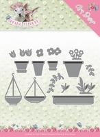 Amy Design Die Spring is Here ADD10169 Flowerpots