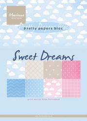 MD Pretty Papers bloc PB7055 Eline's sweet dreams