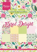 MD Pretty Papers bloc PK9161 Floral Delight