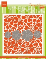 MD Embossing folder DF3452 Klaprozen/Poppies