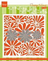 MD Embossing folder DF3451 Madeliefjes/Daisies