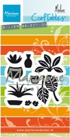MD Craftables CR1464 Tuin Marleen's greenery/planten