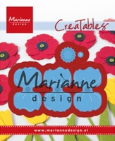 MD Creatables LR0587 Poppy/klaproos