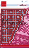 MD Creatables LR0585 Anja's grid corner