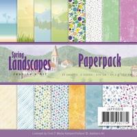 Paperpack Jeanine JAPP10010 Landscapes Spring