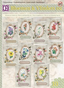Creatief Art Verzamelmap VM65-003 Bloemen & Vlinders 02