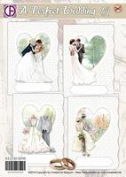 Creatief Art RE2530-0098 A Perfect Wedding 01