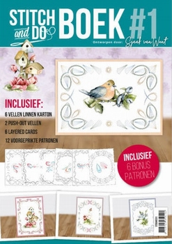 Stitch and Do STDOBB001 A6 Boek 1 Diverse Marieke
