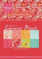 MD Pretty Papers bloc PB7056 Eline's Summer picnic