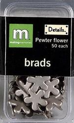 Scrap M Memories Brads bloem 22663 tinkleur