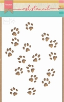 MD Craft stencils PS8029 Tiny's cat paws