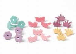 Scrap M Memories Brads 30158 val pack princess bright