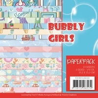 Yvonne Creations Paperpack YCPP10023 Bubbly Girls