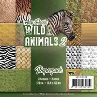 Amy Design Paperpack ADPP10026 Wild Animals 2