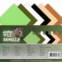 Amy Design Linnenkarton AD-4K-10019 Wild Animals 2
