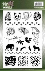Amy Design Clearstamp ADCS10058 Wild Animals 2