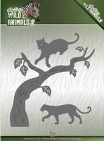 Amy Design Die ADD10175 Wild Animals 2 Panther/panter