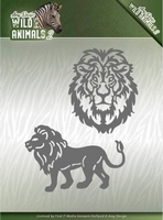 Amy Design Die ADD10177 Wild Animals 2 Lion/leeuw
