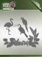 Amy Design Die ADD10174 Wild Animals 2 Tropical Birds