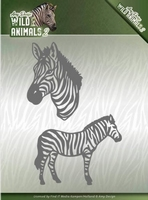 Amy Design Die ADD10178 Wild Animals 2 Zebra
