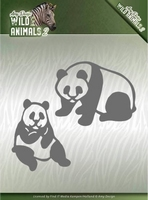 Amy Design Die ADD10180 Wild Animals 2 Panda Bear