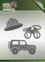 Amy Design Die ADD10176 Wild Animals 2 On a Safari