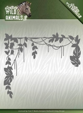 Amy Design Die ADD10173 Wild Animals 2 Jungle Branch