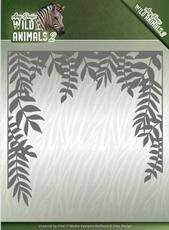 Amy Design Die ADD10172 Wild Animals 2 Jungle Frame