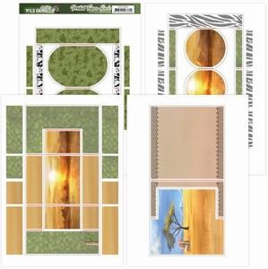 Amy Design Printed Figure Cards ADFC10001 Wild Animals 2
