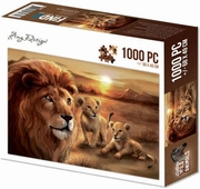 Amy Design Puzzle ADPZ1002 Wild Animals 2 Lion with cubs