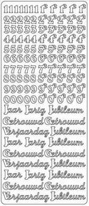 Stickervel 1681 Jubileum - Jarig