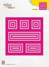 Multi Frame Dies Block MFD126 Square/vierkant