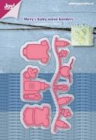 Joy! stencil 6002/1216 Mery's baby golflijn