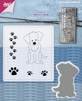 Joy Cutting 6004-0034 Mery's hond + stempel