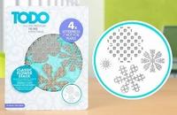 TODO Letterpress & Hot Foil 383624 Plate Classi Flower Stack