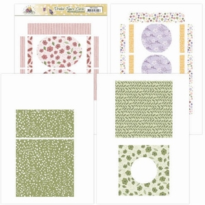Marieke Blooming Summer PMFC10001 Printed Figure Cards