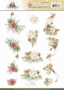Marieke 3D Stansvel Blooming Summer SB10353 Sweet Flowers