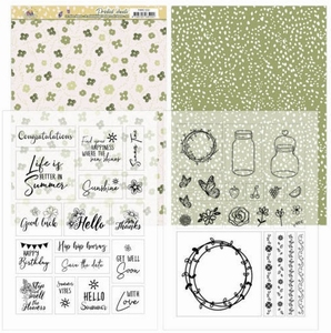 Marieke Blooming Summer PMMC1001 Mica Sheets
