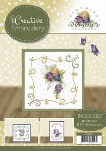 Marieke Blooming Summer CB10002 Creative Embroidery 2
