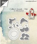 Joy! stencil 6002/1111 Collect friends