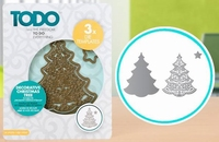 TODO Die Template 370370 Set Decorative Christmas Tree