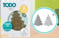 TODO Die Template 370370 Set Decorative Christmas Tree